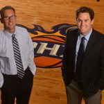 Dr. Golding & Dr. Sabol on Suns Court
