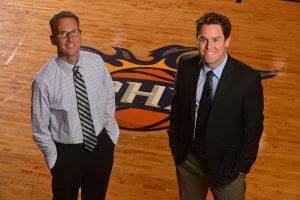 Dr. Golding & Dr. Sabol on Suns Court